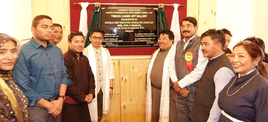 CEC inaugurates Tsechu Lamo Art Gallery at TRC, Leh