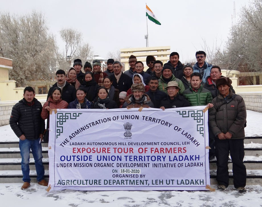 25 farmers on week-long exposure tour to Uttarakhand