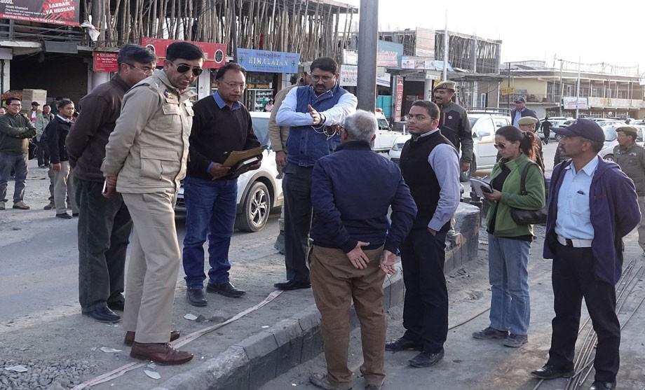Div Com Ladakh directs redesigning of subway architecture in Leh