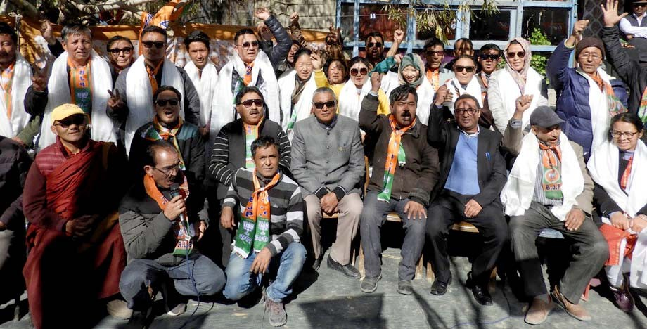 BJP gets 10 BDC seats; two independent candidates join in