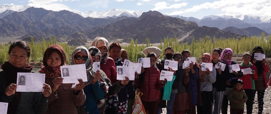 Ladakh Parliamentary Constituency records 71.10% turnout for LS Election