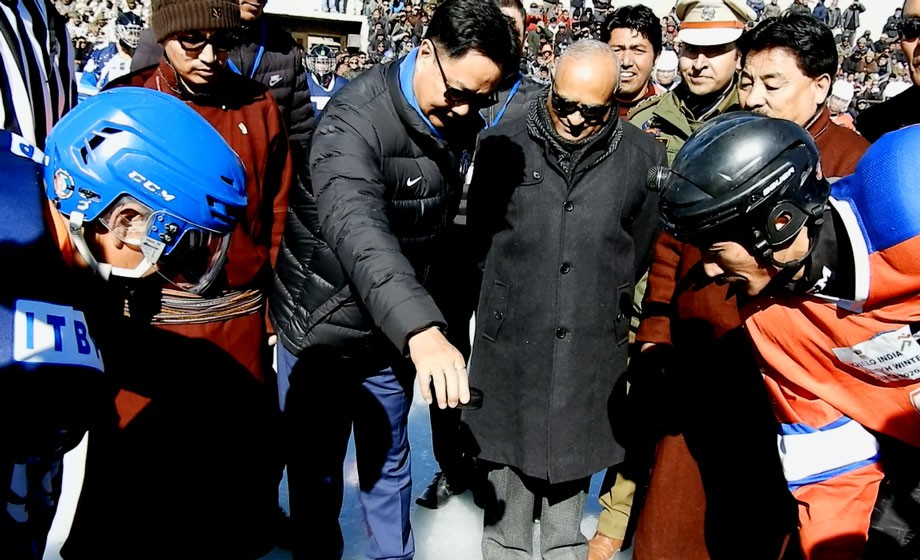 Kiren Rijiju inaugurates first Khelo India Ladakh Winter Games, 2020
