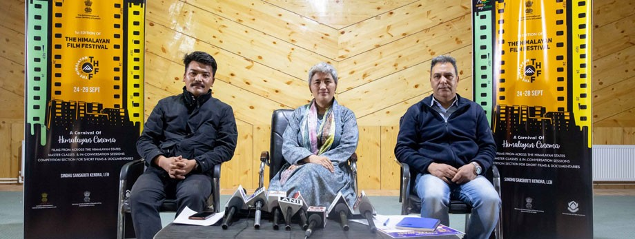 Ladakh all set to roll out first edition of 'The Himalayan Film Festival, 2021'