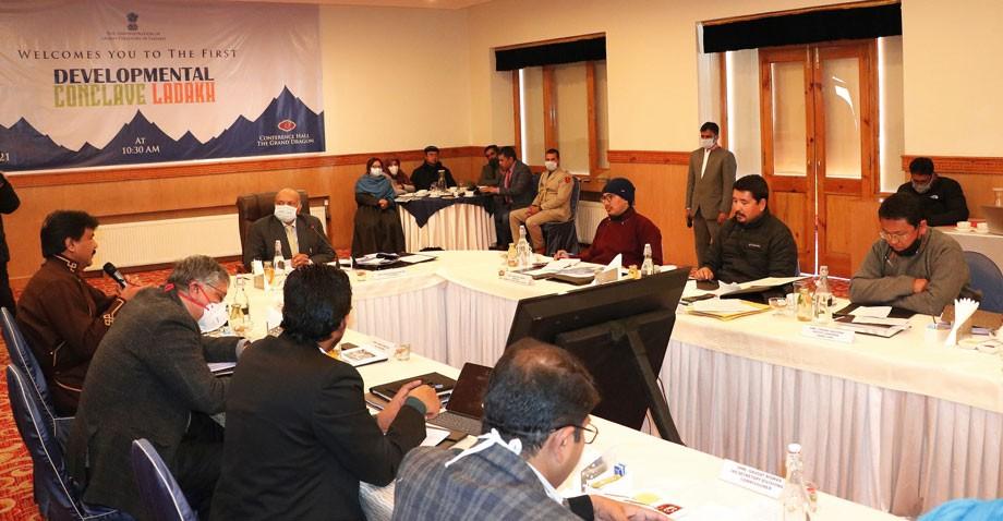 L-G Mathur chairs first Developmental Conclave, chalks out developmental plan for Ladakh