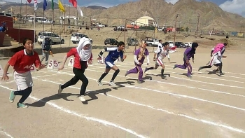 Middle and High schools in Leh participate in 3-day athletic meet
