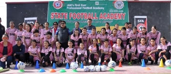 Girls' professional football academy set up in Leh