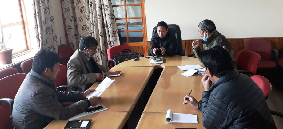 Sandup reviews stocking and distribution of supplies procured via road