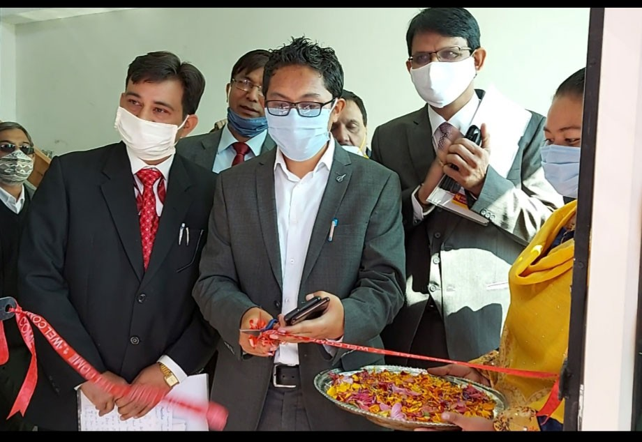 Punjab National Bank opens a new branch in Leh
