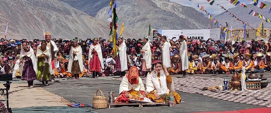 Two days Zanskar Festival held in Padum