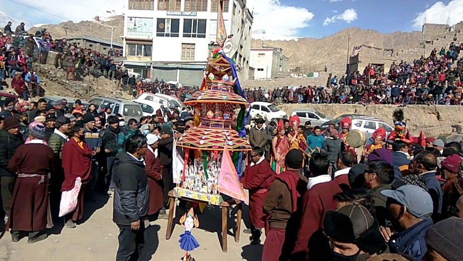 Leh observes Dosmoche festival; prays for peace and prosperity