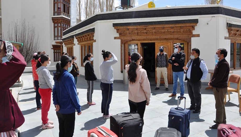 31 students  reaches Leh from Kota, Rajasthan