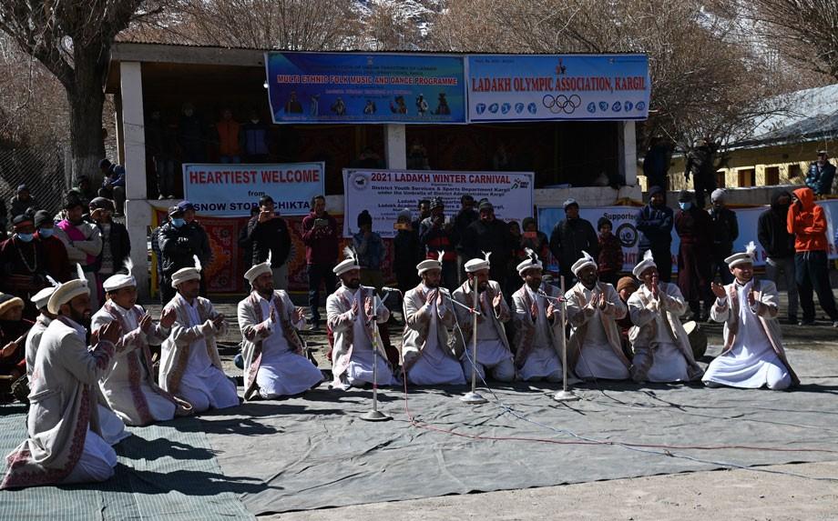 EC Chandan inaugurates three days Ladakh Winter Carnival