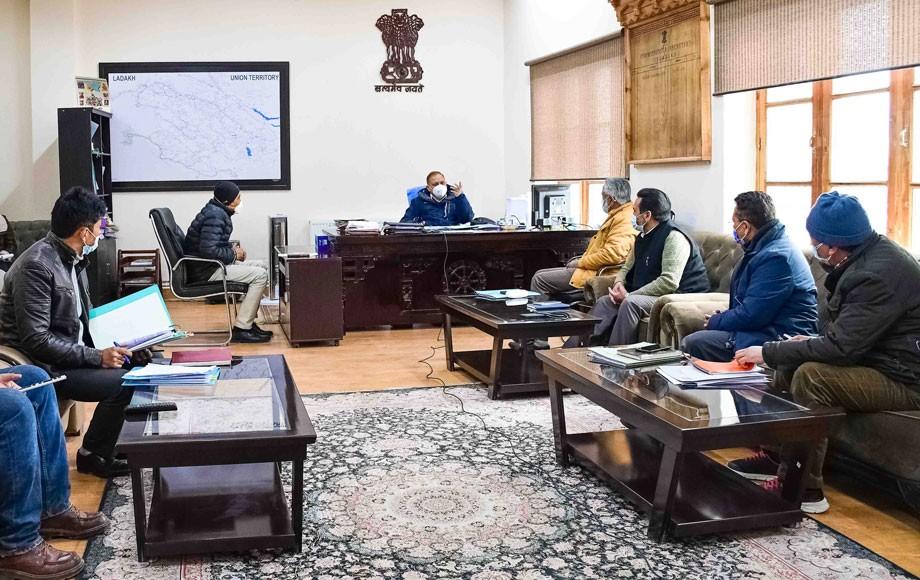 Principal Secretary, Pawan Kotwal reviews State/SDP plan of PHE & I&FC