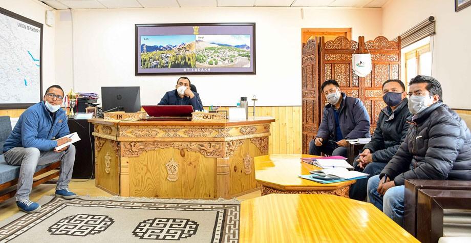 Secretary, Animal Husbandry convenes meeting to boost dairy sector in Ladakh