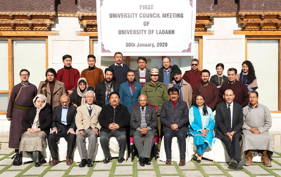 First Council meet of University of Ladakh held in Leh