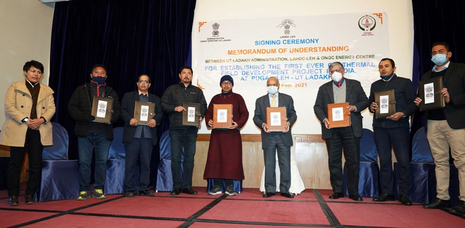 India's first geothermal field development project to come up in Puga, Leh