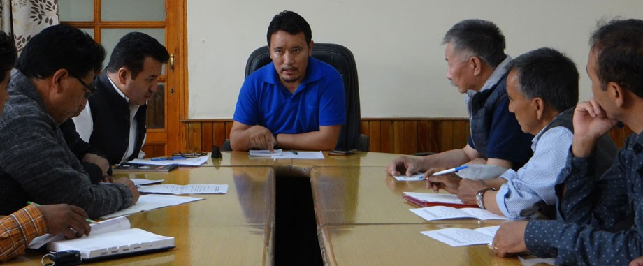 Meeting held for Pashmina branding programme in Leh
