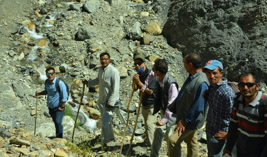 Hill Council, Kargil to promote Yarkashing twin medicinal springs, Karchay Khar Chamba