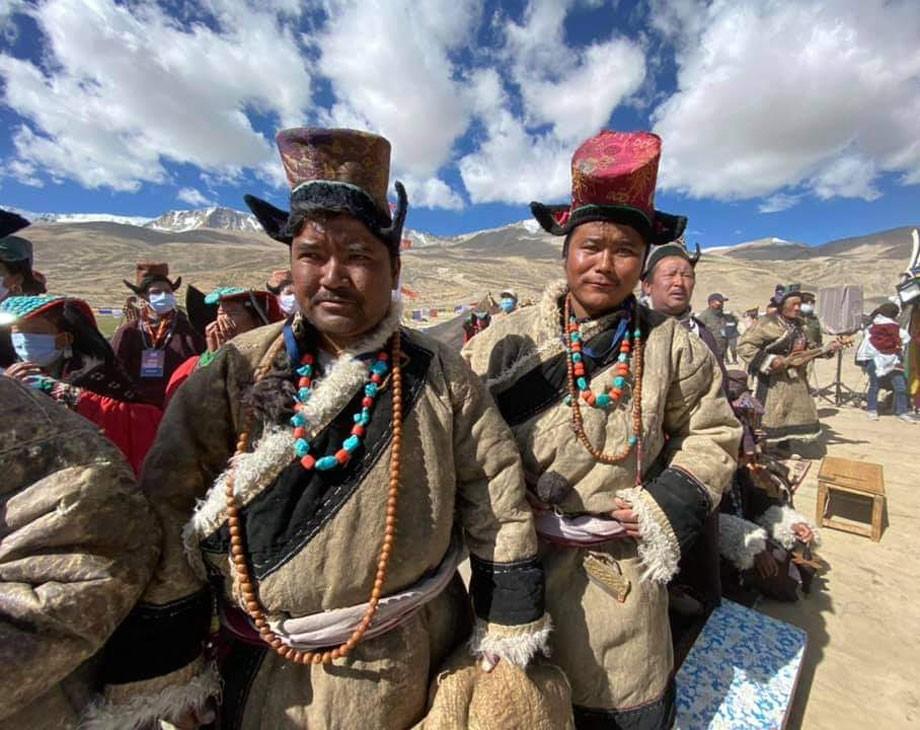 Two day Ladakh Nomadic Festival kick starts at Korzok Phu