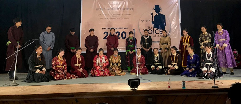 Cultural Academy, Leh, organises singing competition