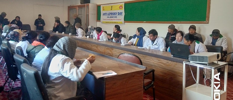 Anti-Leprosy Day: 'Sparsh Leprosy Awareness Campaign' launches in Leh