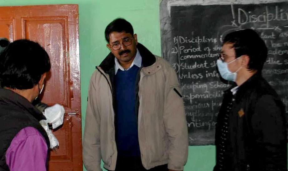 Divisional Commissioner Ladakh visits Zanskar Sub-Division