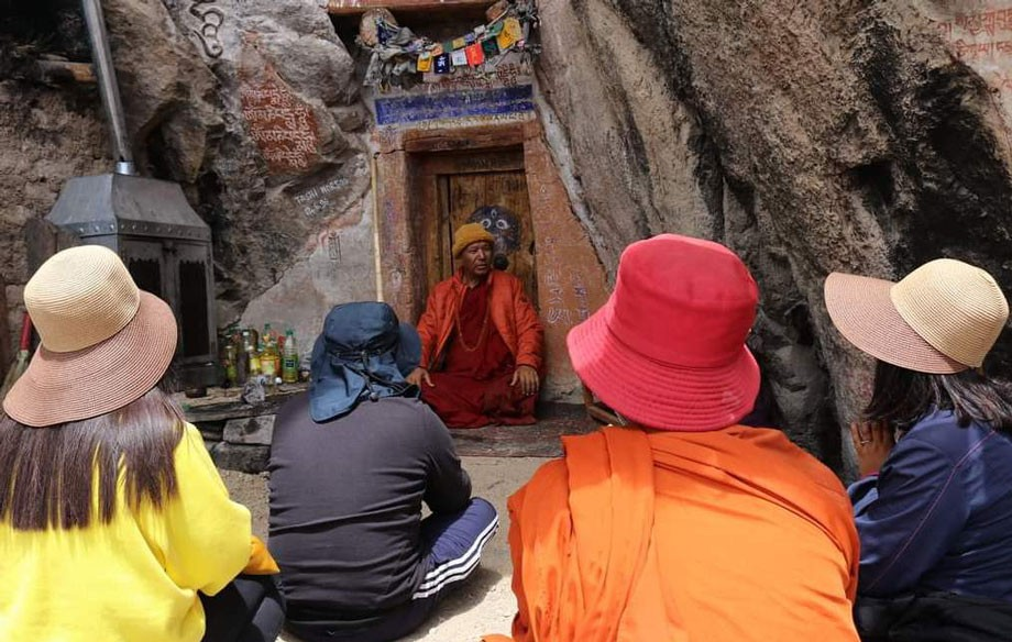 MIMC conducts 4-day pilgrimage tour to ancient spiritual places