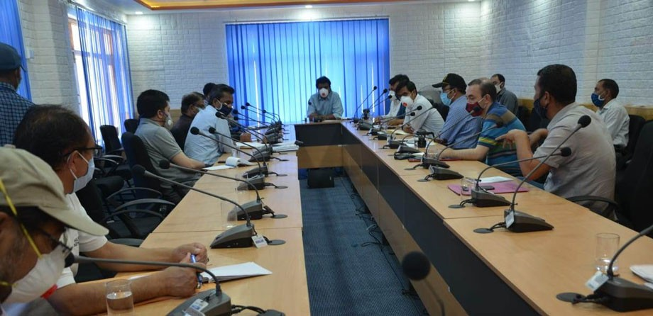 CEC, Kargil reviews functioning, patient care facilities at COVID-19 Hospital