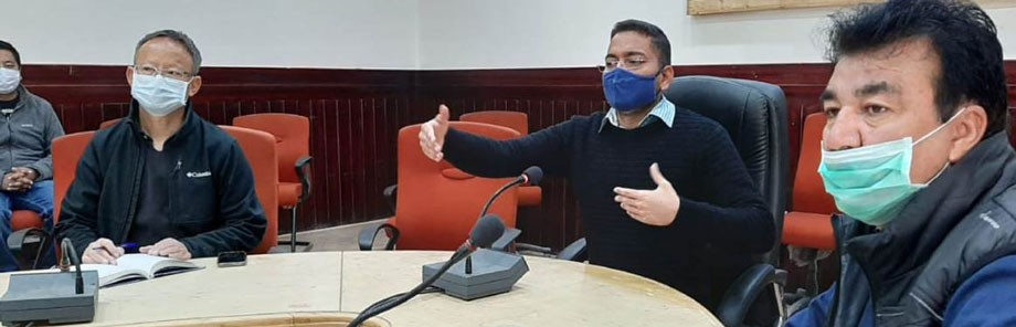 6th LAHDC, Leh election: COVID patients, doctors, paramedics on duty to vote on October 18