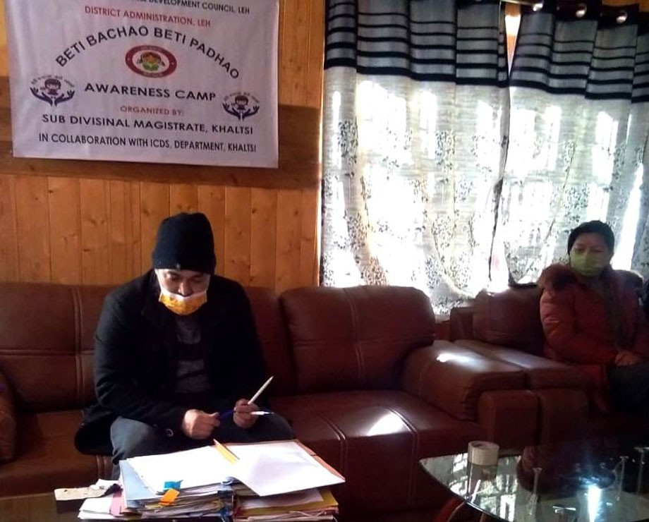 Online painting competition held in Khaltse