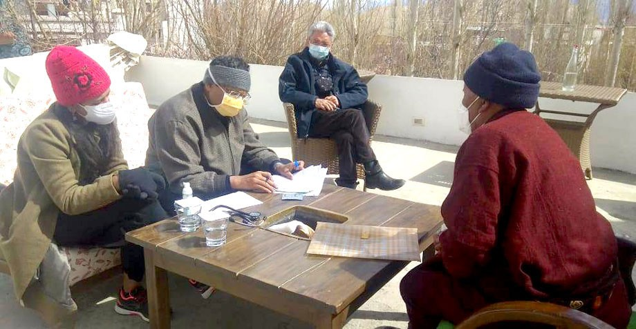 Free medical camp for Cardiothoracic patients held in Leh