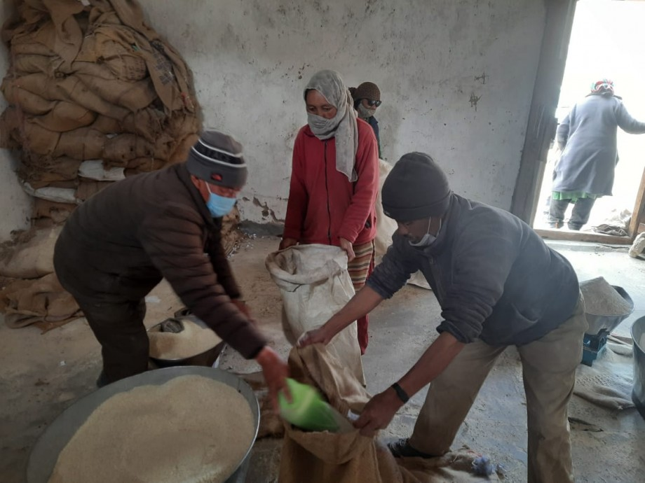 PMGKAY-III free ration distribution commences in Ladakh