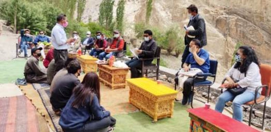 CEC, Leh visits Lingshed constituency, assesses developmental work
