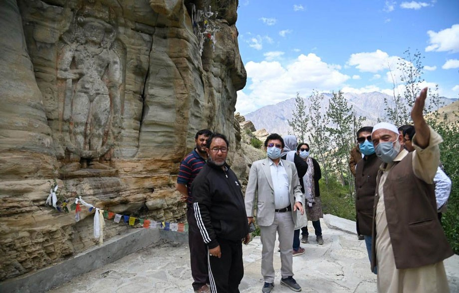 Secretary Tourism highlights importance of developing historical structures at Sodh, Chiktan