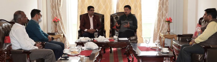 CEC, Leh meets Agriculture Minister of Sikkim in Leh