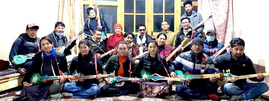 Vision Himalaya Ladakh organises month-long traditional music workshop