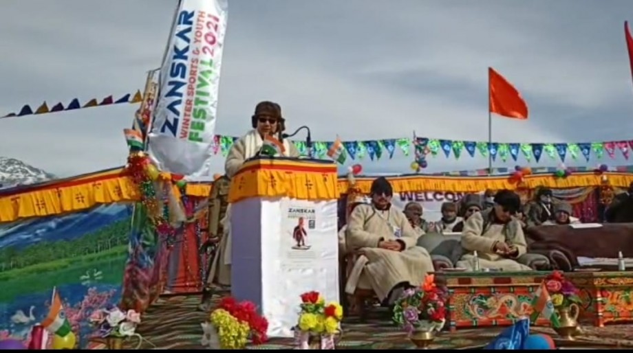 First Zanskar Winter Sports and Youth Festival begins