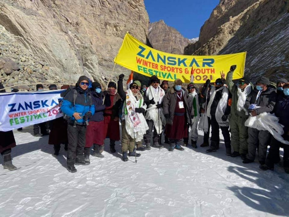 MP Ladakh inaugurates 75 metre span motorable bridge at Pidmo