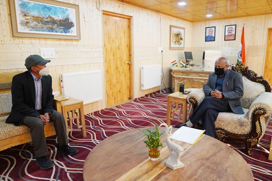 Councillor Cha raises demand of Zanskar region