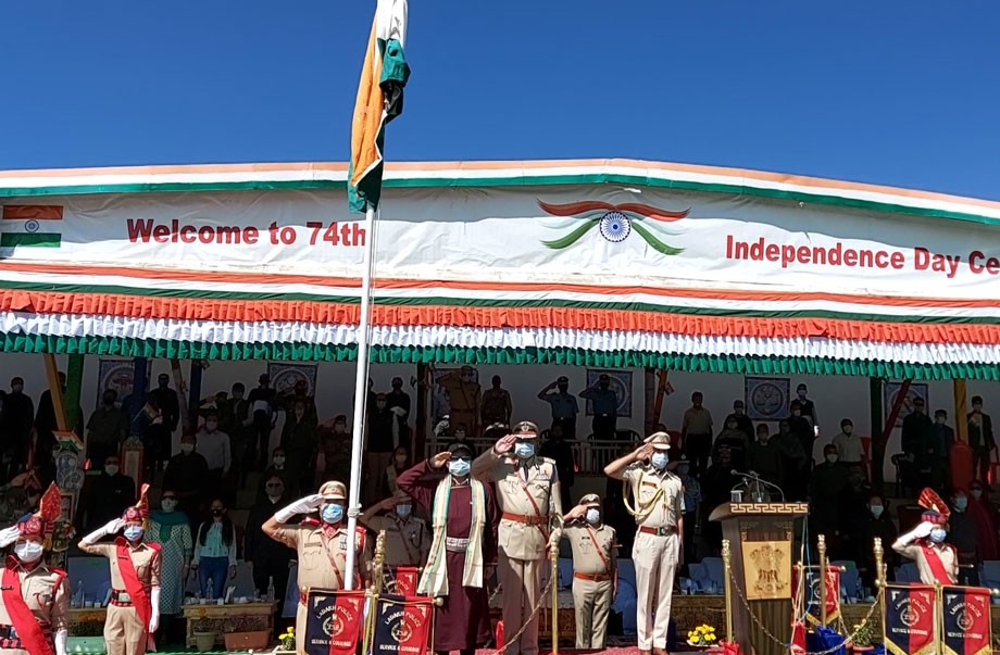 Ladakh celebrates 74th Independence day with great enthusiasm