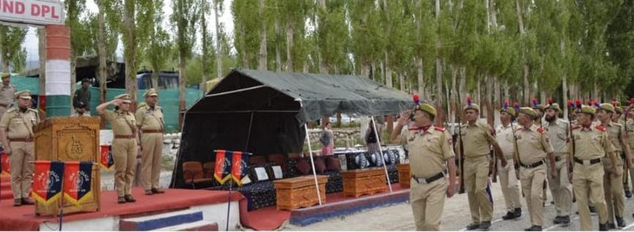 District Police, Leh organises victory parade
