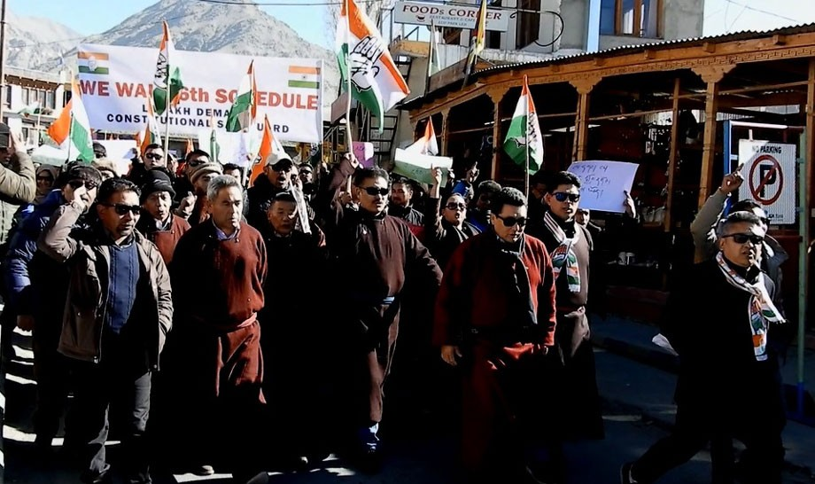 District Congress Committee, Leh demand safeguards for UT Ladakh