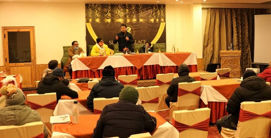 IITTM Gwalior conducts cleanliness awareness workshop with tourism stakeholders in Leh