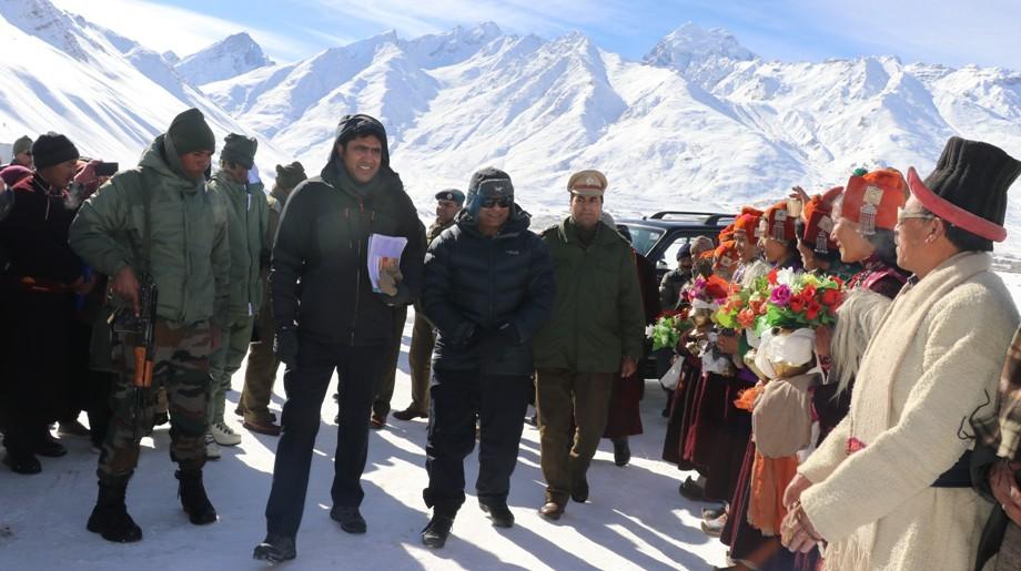 L-G visits Zanskar valley